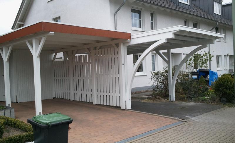 Ihr carport aus holz c k carports aus detmold in for Carport bielefeld